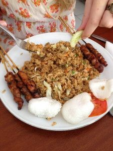 """A cousin to Mee Gorene is Nasi Goreng.  This one means """"fried rice"""" in Indonesian, and it's considered the national dish of Indonesia.  It's just that damn tasty!"""