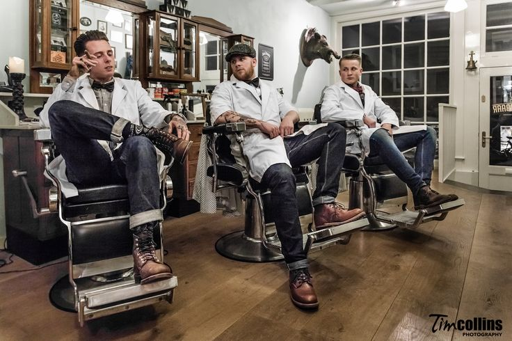 Man Cave Barber London : Amsterdam barber shop haarbarbaar tim collins