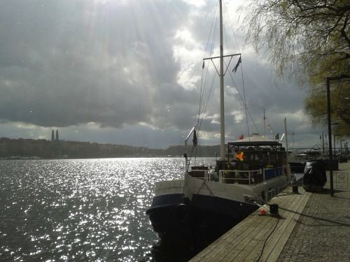 Weird April weather in Stockholm (photo by luk.a.)