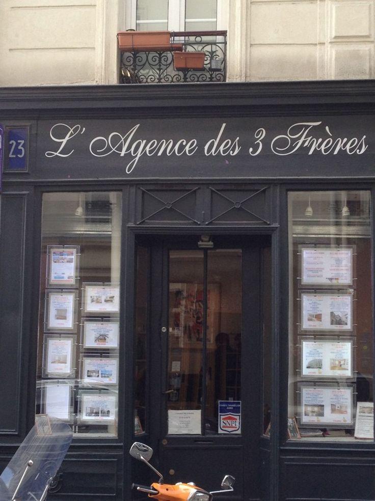 Une Agence immobilière parisienne qui porte un nom singulier !