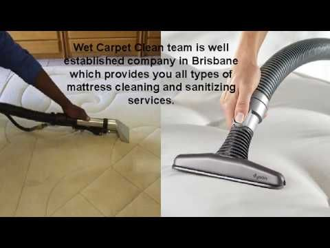 What's the best way to clean stains on a mattress?