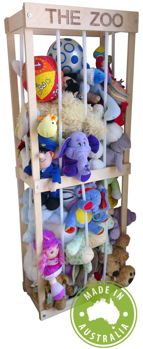 Soft Toy Storage Australia - Makers of THE ZOO - The unique toy storage solution