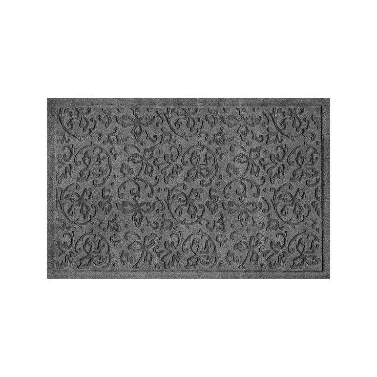 WaterGuard Halcyon Indoor Outdoor Mat, Grey