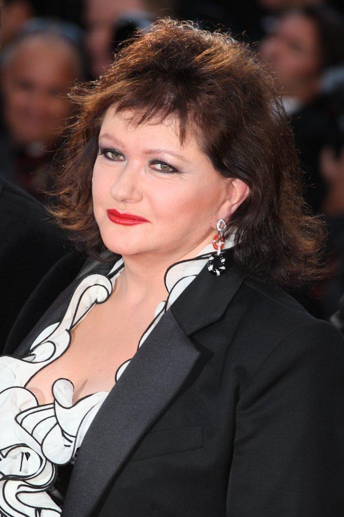 photo 2/21 - Présentation du film Moonrise Kingdom, Cannes 2012 - Catherine Jacob - © Isabelle Vautier pour CommeAuCinema.com