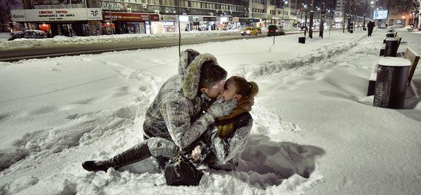 Cele mai frumoase fotografii cu Bucureștiul iarna [GALERIE FOTO]