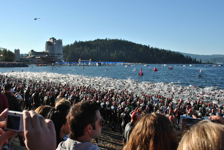 Ironman triathlon Coeur d'Alene Idaho
