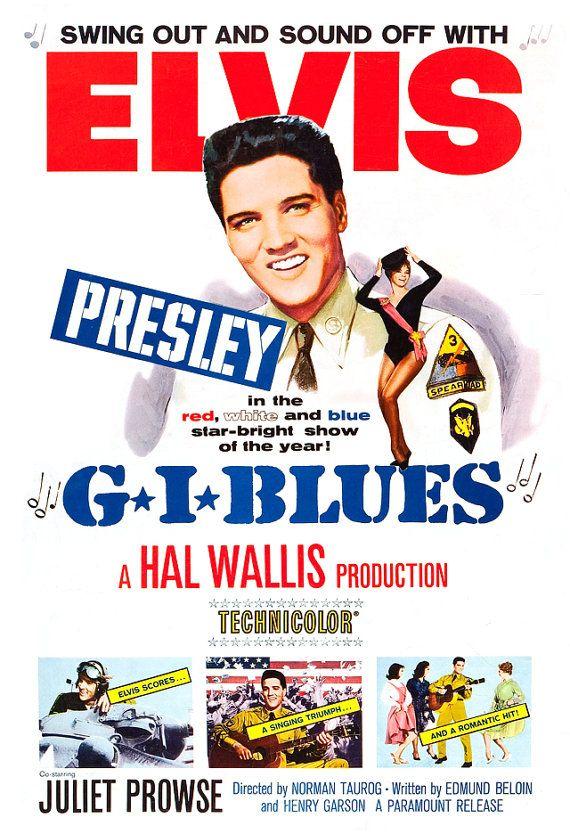 Elvis Presley - G.I. Blues - Home Theater Decor - Movie ...