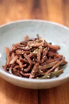 ぜんまいのナムルの作り方 - 使えるレシピ