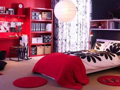 teen bedrooms for girls | Ikea Teenage Girl Bedrooms, IKEA Dorm Room