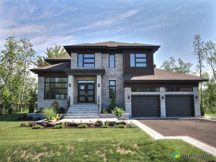 Maison neuve a vendre Boucherville, 1295, rue du Boisé, immobilier Québec | DuProprio