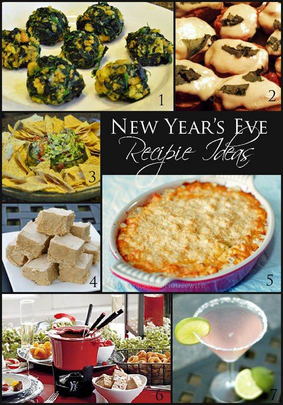 7 New Years Eve Party Recipes From Savory To Sweet And A Cocktail