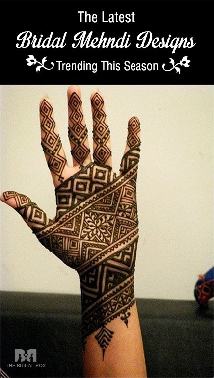 26 Of The Latest Bridal Mehndi Designs For Your Big Day