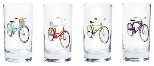 retro bike glasses...i had the first two bikes on the left in the 60's...