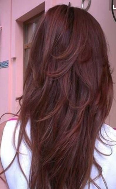 Great dark auburn color