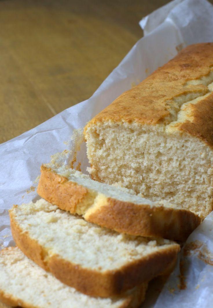 bizcocho sin gluten, sin lactosa y sin azúcar, con harina y leche de arroz y con edulcorante o agave o miel