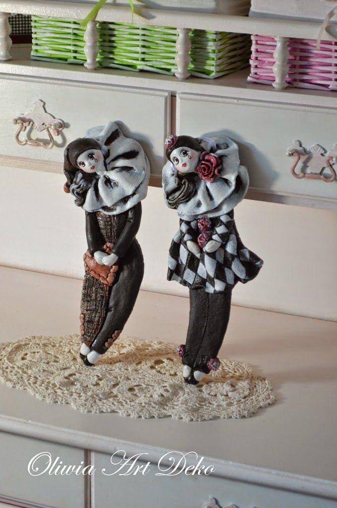 Oliwia Art Deko: Pierroty.