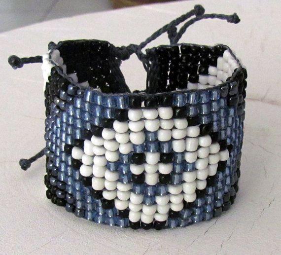 Handmade beaded bracelet by ManinaIrvine on Etsy, €25.00