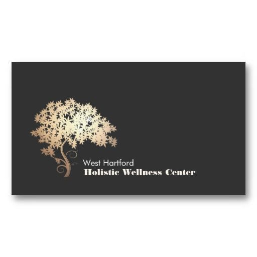 The 18 best holistic health business cards images on pinterest gold zen tree holistic and alternative health business card colourmoves