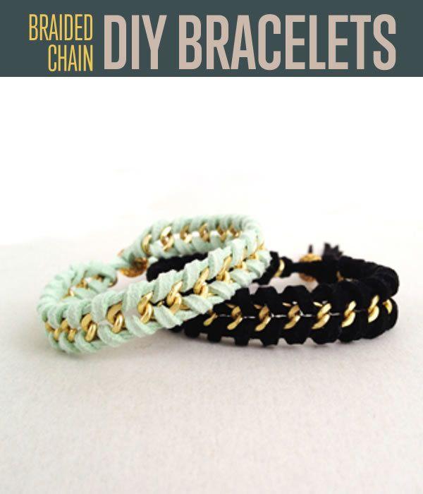 DIY Gevlochten armbanden - Zelfgemaakte Sieraden Trends