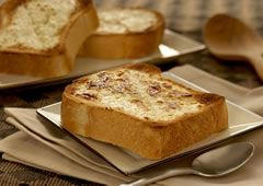 Brick Toast Recipe: Brick Toast, Milk Brick, Toast Recipe, French Toast, Conden Milk, Recipes Breads Muffins Rol, Sweetened Condensed Milk, Baking, Breads Puddings