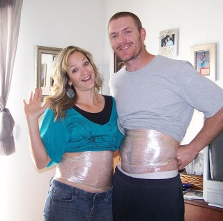 A couple that wraps together, stays together :)