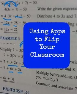 What apps are best for a flipped classroom and a demo video!