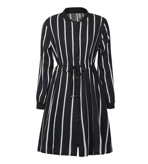 Sexy Dresses 2016 New Spring Striped Casual Dresses Women Fashion Sash Bodycon Dress Work Wear Office Dress For Ladies 5xl Vintage Dresses From Jessiebee, $8.8| Dhgate.Com