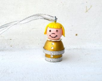 Vintage Fisher Price Little People Christmas Tree by thatmakemejoy: