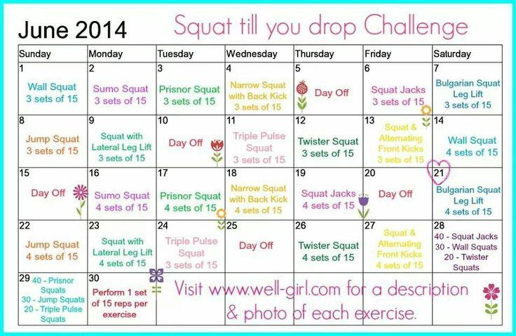 Squat 'til You Drop Challenge | Shit I Should Be Doing ...