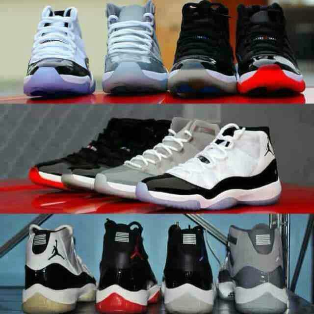 I want a pair of space jams or cool greys!