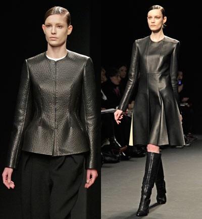 Calvin Klein, Definitivamente el material del 2013, el cuero