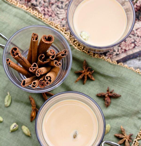 Vaarwel kou, hallo chai thee! Want zo'n volle mok is oh zo hartverwarmend op een koude dag.