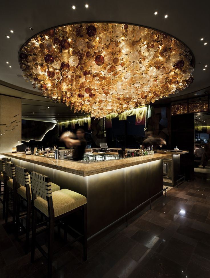 Find the most luxurious details and inspirations for an interior bar design. Find more at luxxu.net
