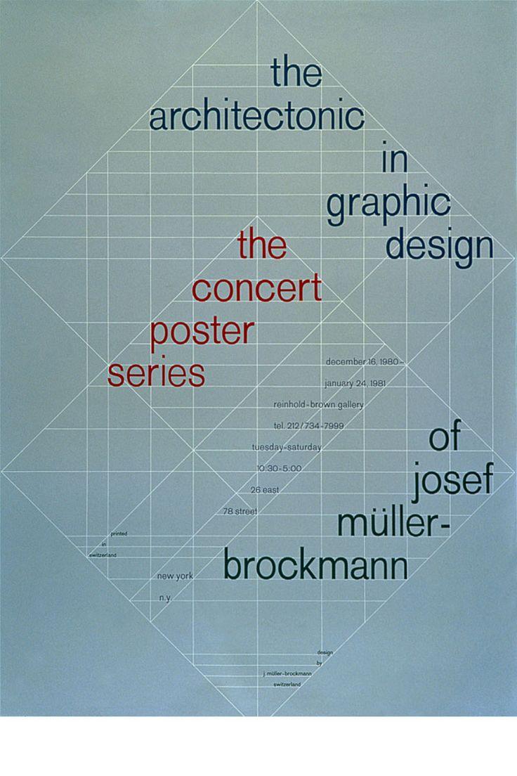 42 best josef m ller brockmann graphic designer images on pinterest swiss design graphic. Black Bedroom Furniture Sets. Home Design Ideas