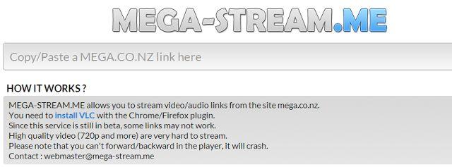 Riprodurre i file Audio e Video di MEGA senza scaricarli
