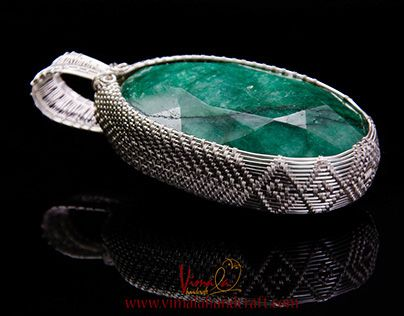 """Check out new work on my @Behance portfolio: """"Commission Jewellery : Wire Wrapped Pendant for Men"""" http://on.be.net/1KqDclz"""