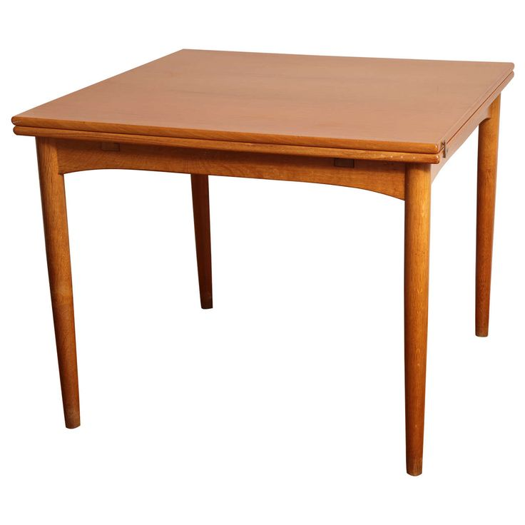 Danish Midcentury Game Table | From a unique collection of antique and modern tables at https://www.1stdibs.com/furniture/tables/tables/