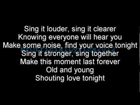 Sing - Gary Barlow & the commonwealth band lyrics - YouTube