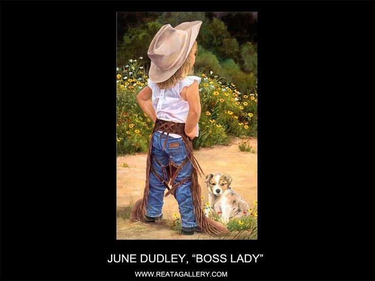 Boss Lady By June Dudley