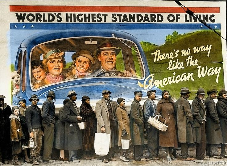 Great Depression Pictures In Color