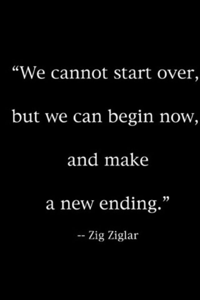 So true!-especially when two individuals realize they can't replace the other. The love, caring and feelings, nothings ever perfect it take work and no one can start over, but beginning now with work they can make a new and amazing ending. !!-some girl.@