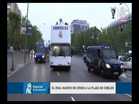 LA UnDecima | Celebración de los jugadores del Real Madrid a la plaza de...
