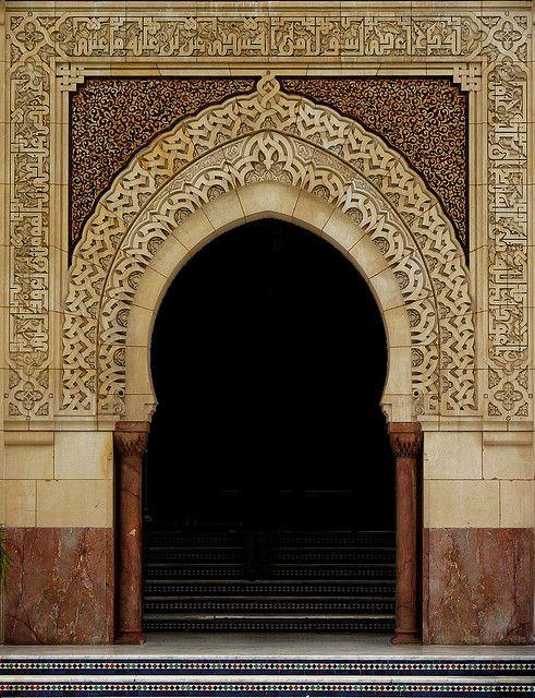 ♂ Ethnic beauty gate La Grande Mosquée de Paris lσvє ▓▒░ ♥ #bluedivagal, bluedivadesigns.wordpress.com