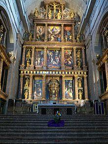 Altar Mayor del Monasterio de El Escorial - Wikipedia, la enciclopedia libre