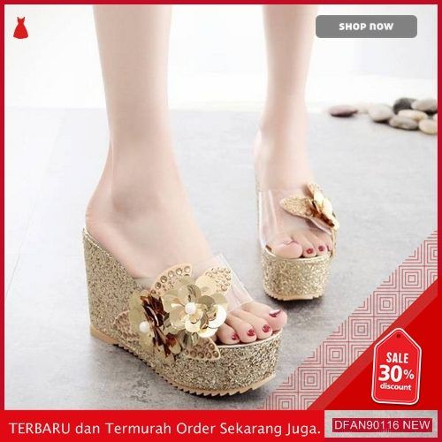 Jual Dfan90116i45 Sepatu N Sandal Im05x045 Wanita Wedges Terbaru
