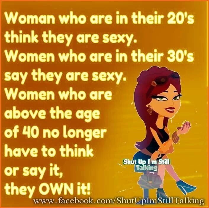 Women Over 40 Own It SEXY !