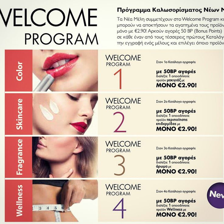 Welcome programme