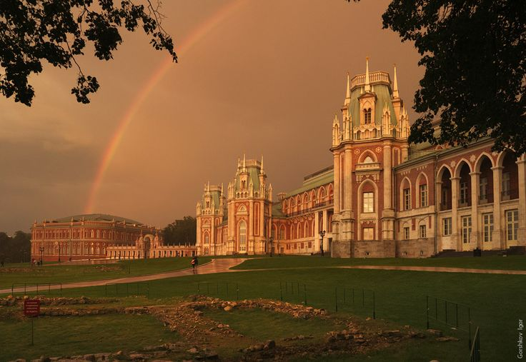 "Photo Rainbow over the palace in ""Tsaritsyno"" by Gorshkov Igor on 500px"