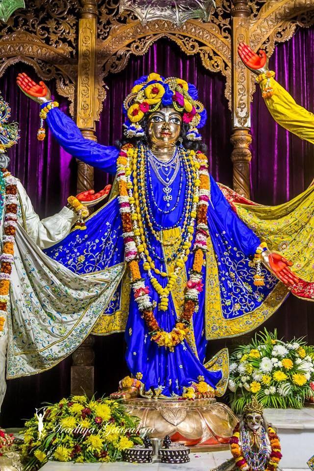 ISKCON Mayapur Deity Darshan 03 Jan 2019 (19)   Most