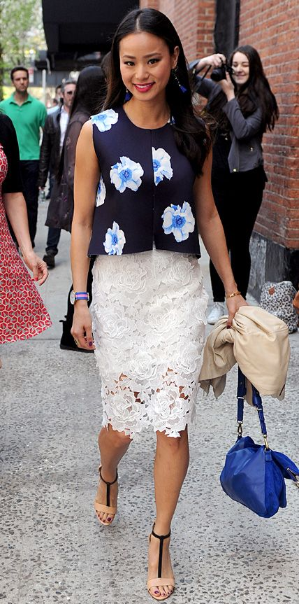 Look of the Day - May 5, 2014 - Jamie Chung from #InStyle